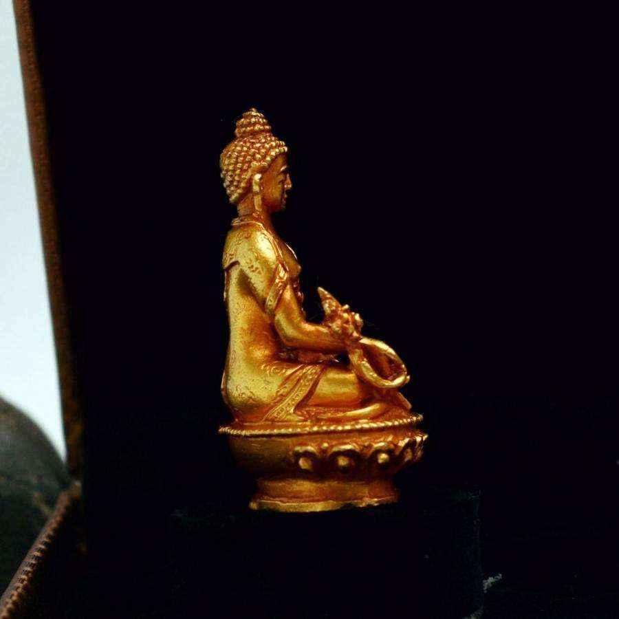 Tượng Phật Vàng Dược Sư