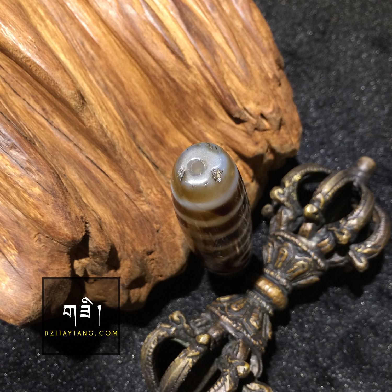 Dzi Tây Tạng 2 mắt - 4 | DziTayTang.Com
