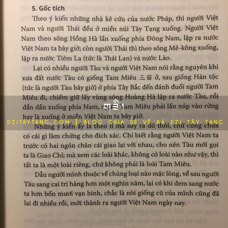 Gốc tích Người Việt - Việt Nam Sử Lược - Trần Trọng Kim